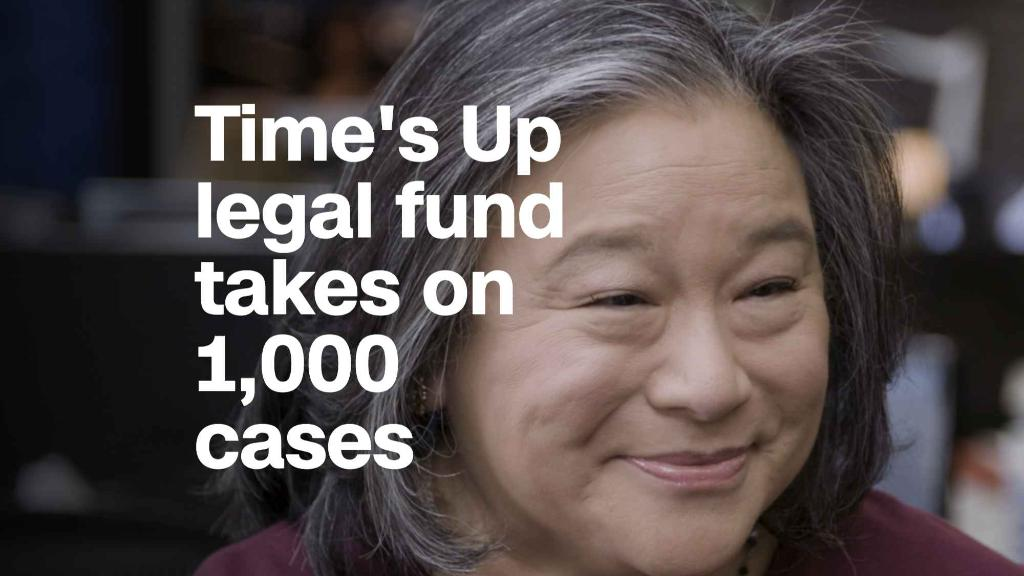 Time's Up legal defense fund takes on 1,000 cases