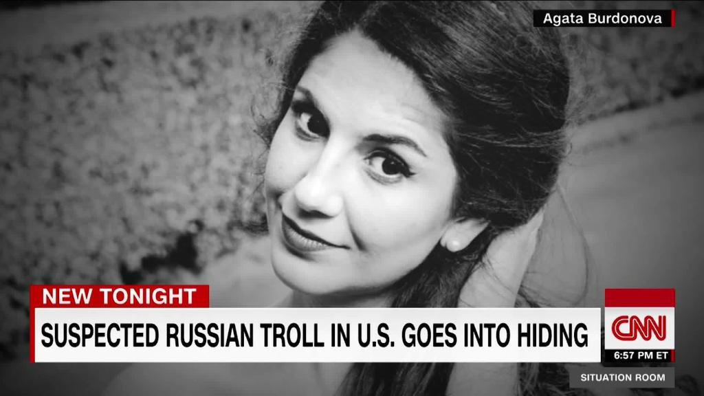 Suspected Russian troll goes into hiding