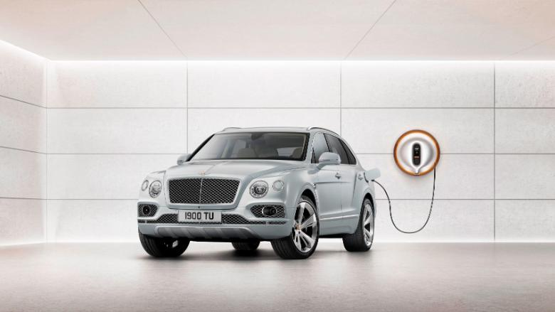bentley bentayga hybrid charger