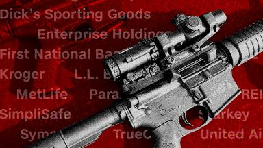 These companies are distancing themselves from the gun industry