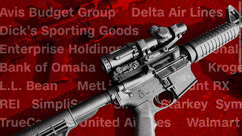 brands cutting ties nra