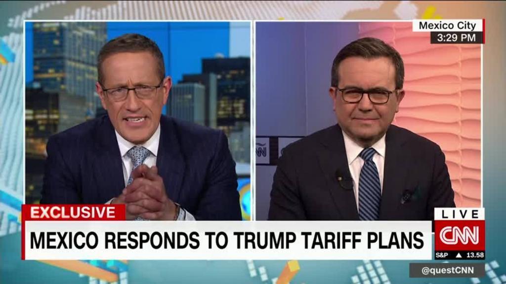 Mexico's Economy Secretary responds to Trump's tariff plan