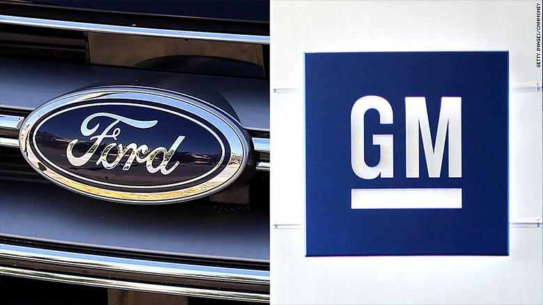 Ford and GM to get hit by Trump
