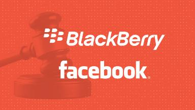 BlackBerry sues Facebook for patent infringement