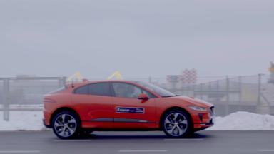 Jaguar electric SUV I-Pace takes on Tesla