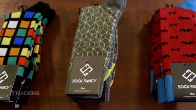 This startup found success delivering socks