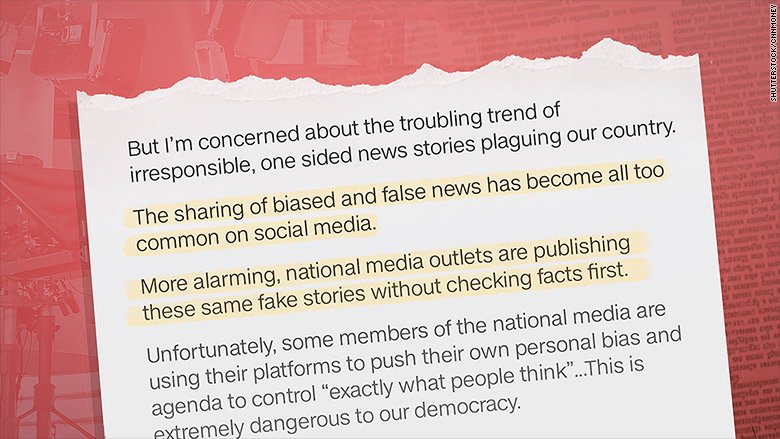 Sinclair Broadcast Group airs 'fake news' warnings