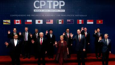 11 countries sign TPP trade pact without the United States