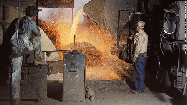 steel history alabama