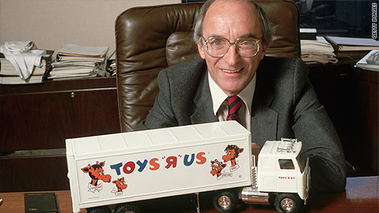Toys 'R' Us founder Charles Lazarus dies days after chain says it's closing