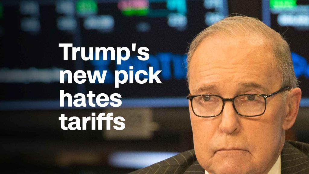 Trump's new top economic adviser hates tariffs