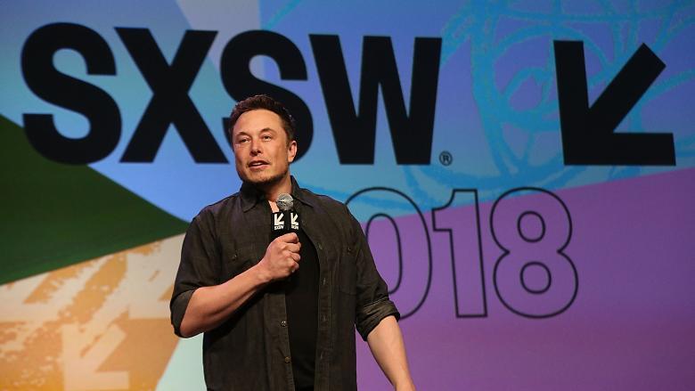 Elon Musk SXSW 2018