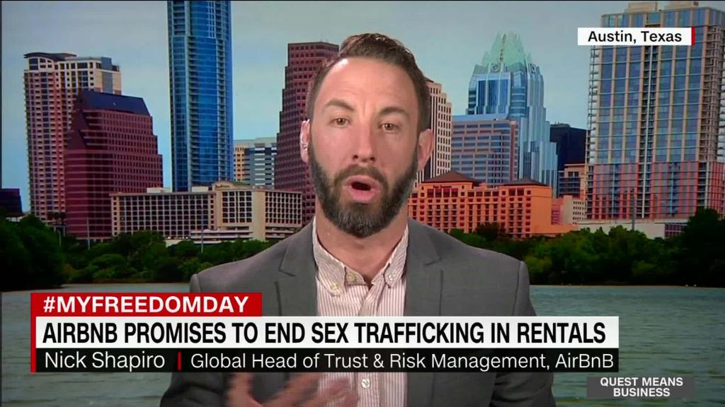 AirBnB: Info sharing can curb human trafficking