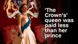 'The Crown's' queen was paid less than her prince