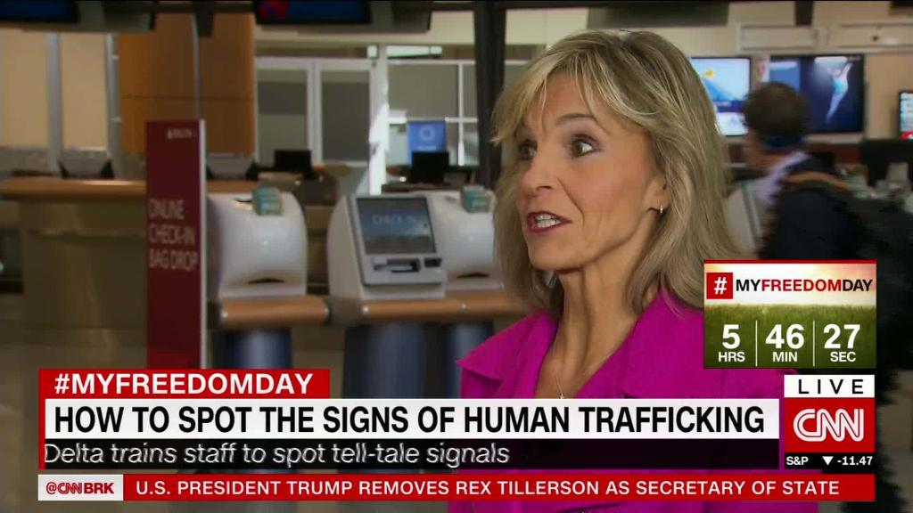 Delta teaches staff to spot human trafficking
