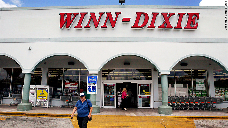 Winn-Dixie parent company closing almost  100 stores as part of restructuring