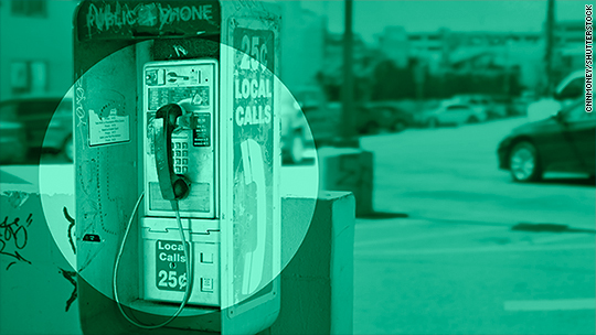 There are still 100,000 pay phones in America