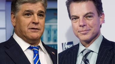 Hannity jabs Shep Smith in sign of rift between Fox News opinion and news