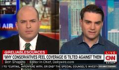 Ben Shapiro talks media bias and gun control