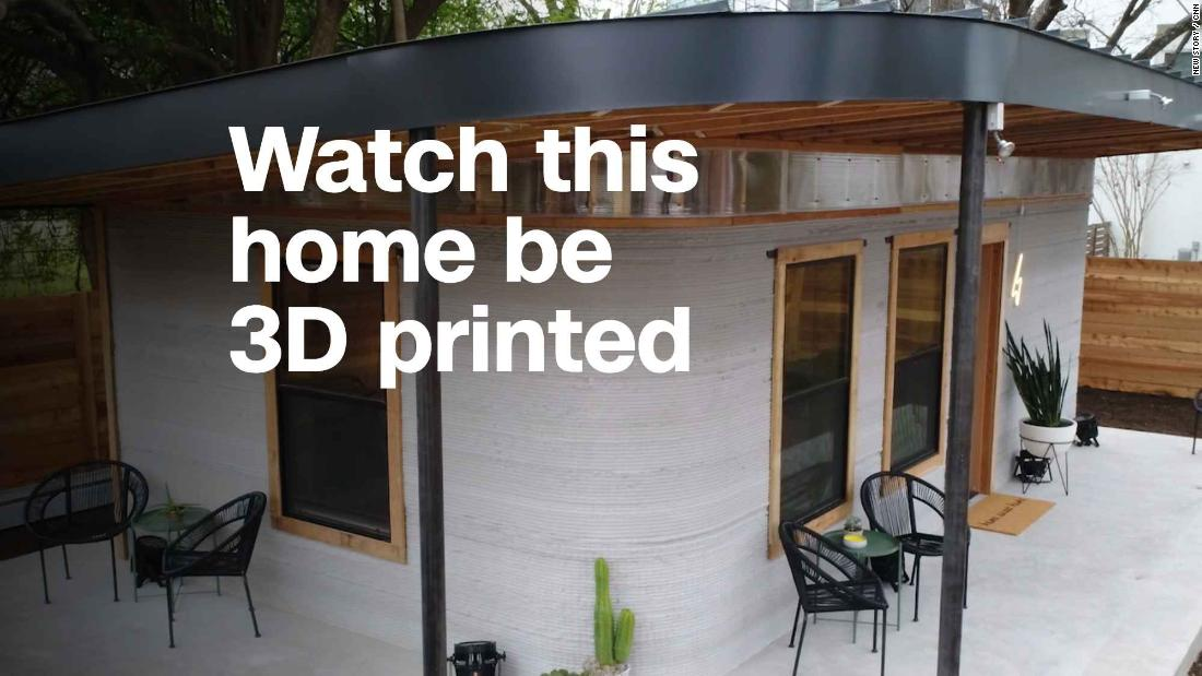 watch this home be 3d printed video technology - 3d House Building