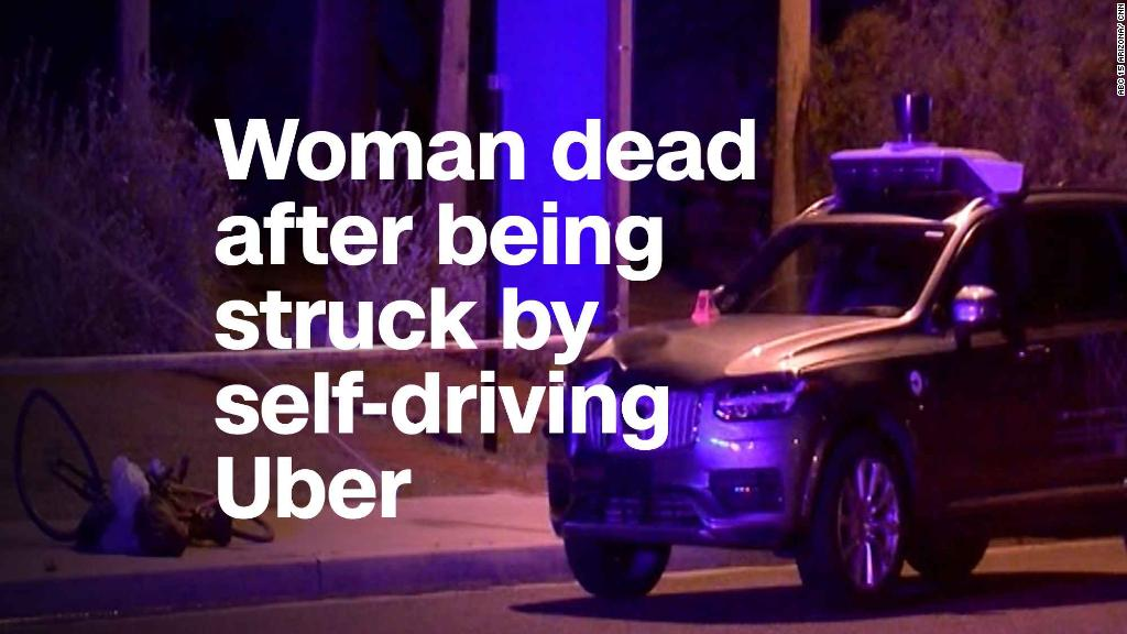 Image result for Pedestrian killed in accident involving self-driving Uber