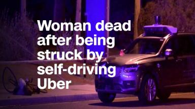 Uber's deadly self-driving car crash caught on camera