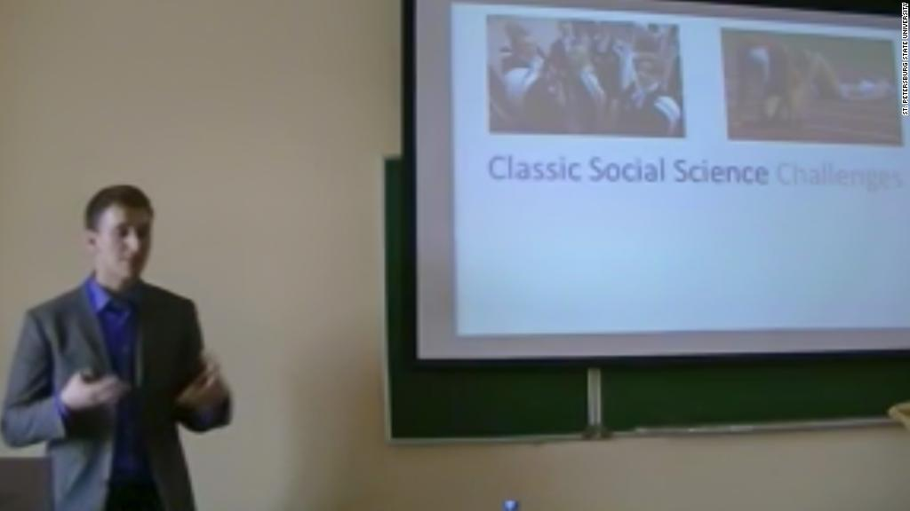 Data researcher touted controversial techniques in lecture