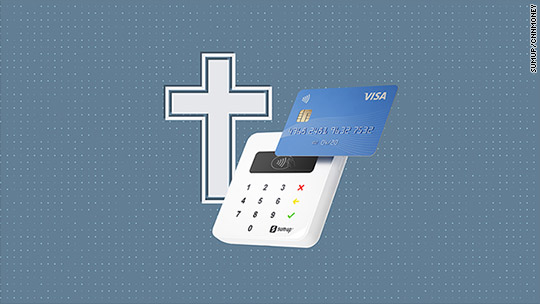 Tech in church? Cashless giving is coming soon