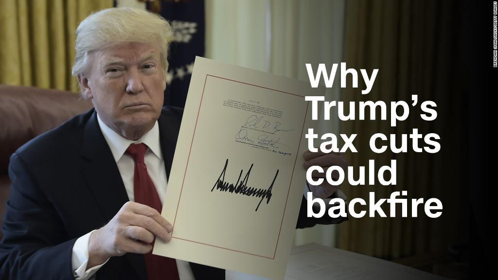 Why Trump's tax cuts could backfire