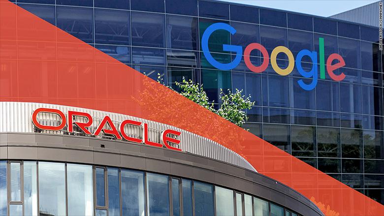 google oracle copyright