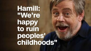 Mark Hamill: 'We're happy to ruin peoples' childhoods'