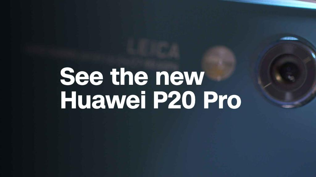 See the new Huawei P20 Pro