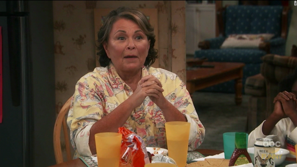 Pro-Trump 'Roseanne' returns with strong ratings