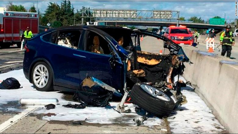 Image result for Tesla Fatal Crash: Who to Blame