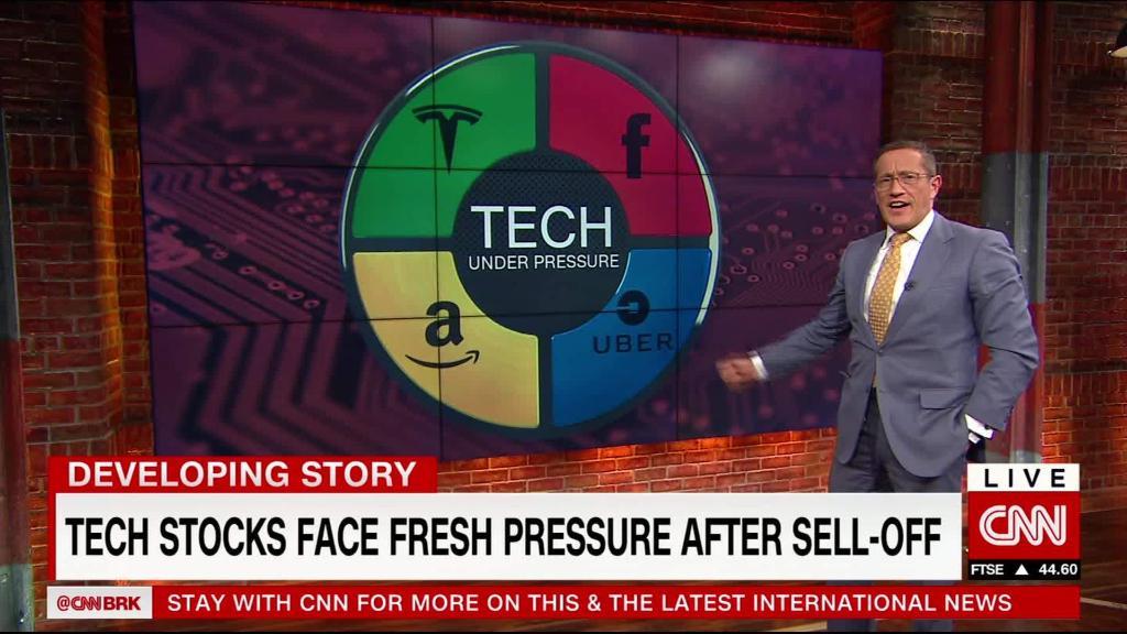 Four tech giants, four giant problems