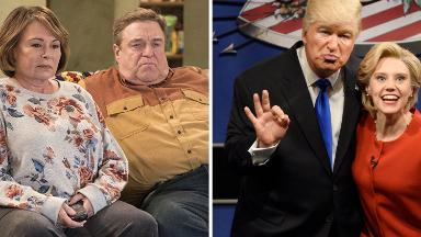 In Trumpworld, 'Roseanne' and Fox are good. 'SNL' and Washington Post are bad
