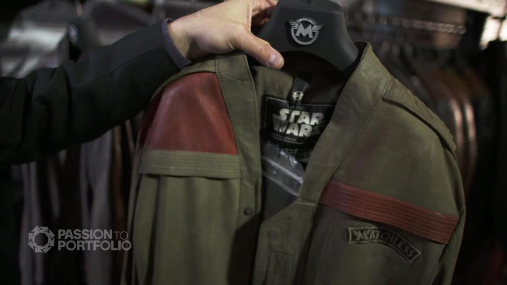 Designer jackets inspired by Hollywood
