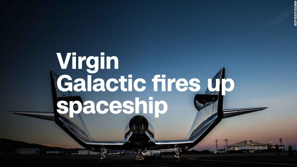 Virgin Galactic tests ship that could bring tourists to space