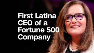 The first Latina Fortune 500 CEO on being a refugee