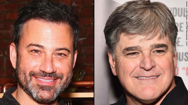 Jimmy Kimmel mocks 'my pal' Sean Hannity over Trump lawyer bombshell