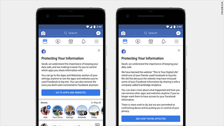 facebook protect info