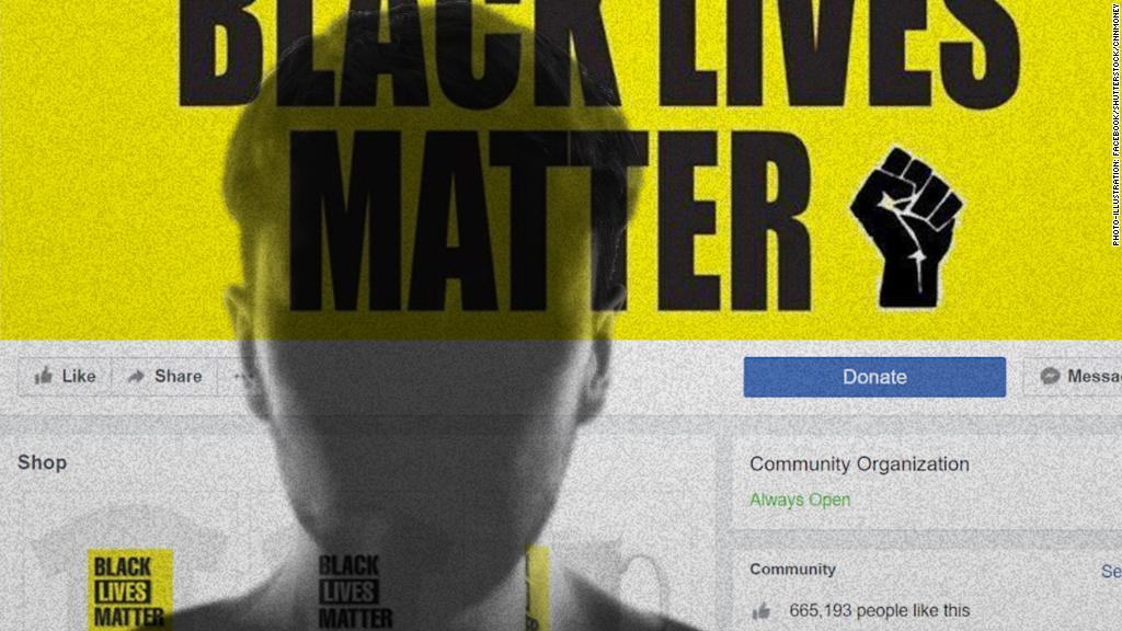 Fake Black Lives Matter page was up for at least a year