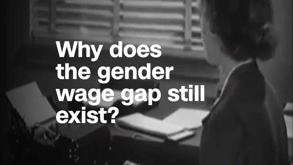 Why does the gender wage gap still exist?