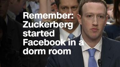 Zuckerberg wants you to remember Facebook started in his dorm