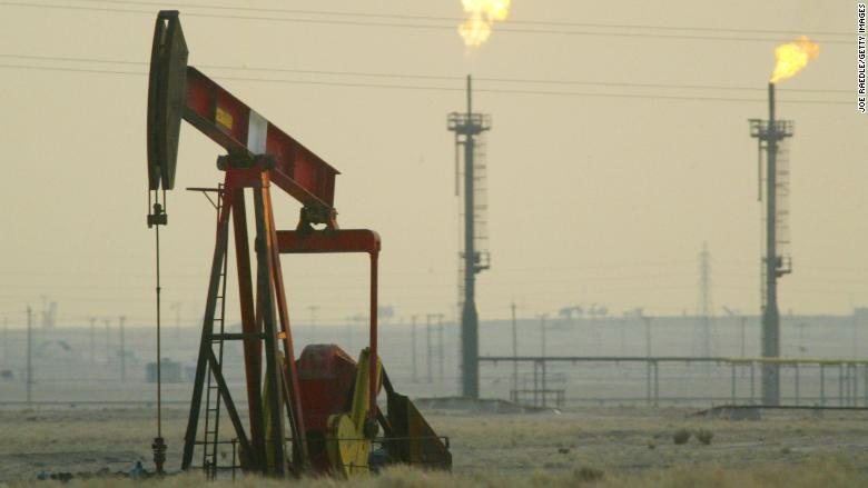 Oil pops above $70 for first time since 2014