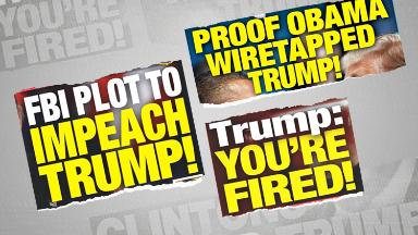How the Trump-friendly National Enquirer has been promoting his presidency
