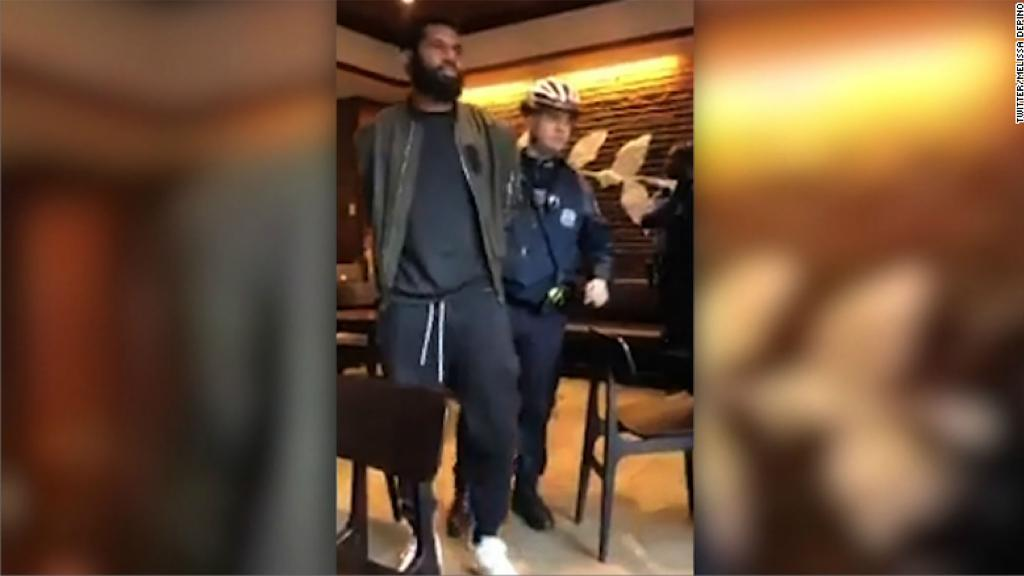 Starbucks arrests spark protests