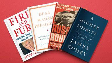 Every top New York Times best-seller this year has been about Trump