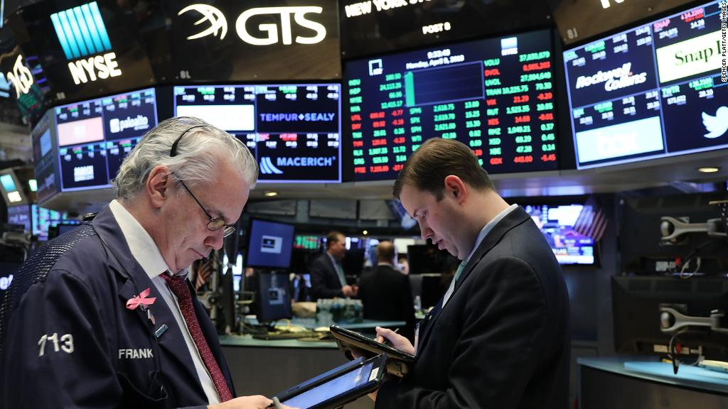Dow plunges on poor earnings reports