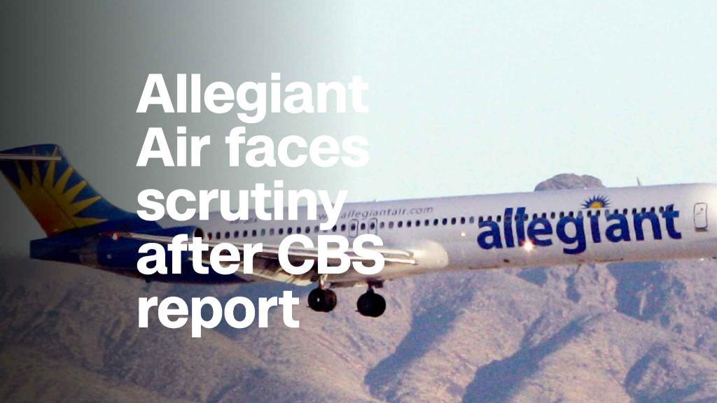 Allegiant Air faces bumpy air after CBS report